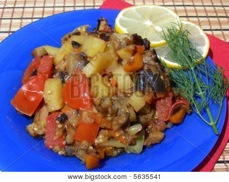 Hot Vegetable Dinner
