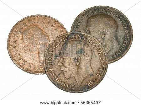 Old English Pennies