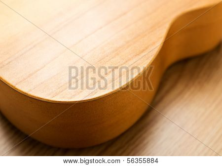 Shape of guitar