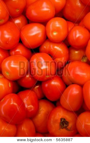 Fresh Tomatoes Top View