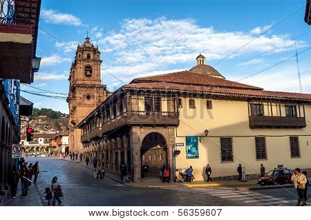 In The Street Of Cusco