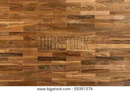 Wood Texture - American Walnut Parquet Floor
