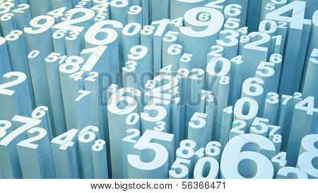 Números 3D