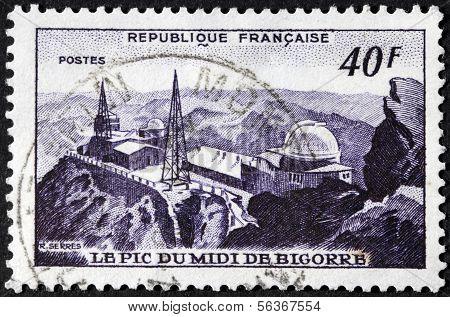 Pic Du Midi Stamp