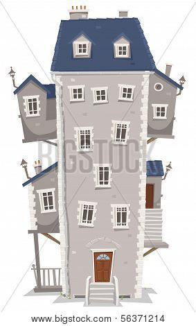 Big Tall House Building
