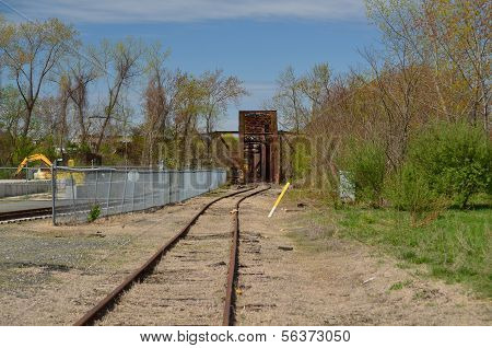 Railroad trestle