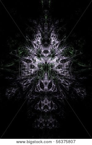 Abstract symmetrical theme