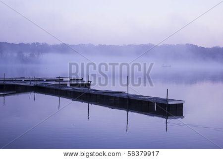 Docks Reeds Lake Michigan