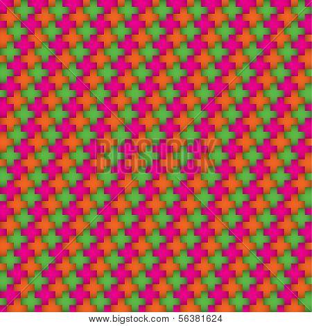 Color vector wallpaper of crosses