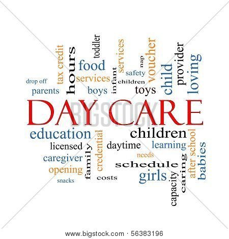 Day Care Word Cloud Concept