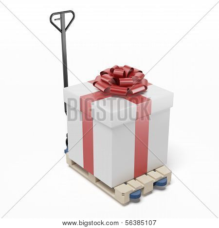 Pallet Truck with Gift