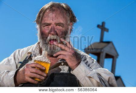 Old West Drunk