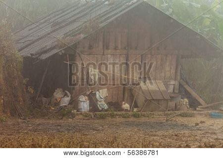 Barn in Sapa, Vietnam