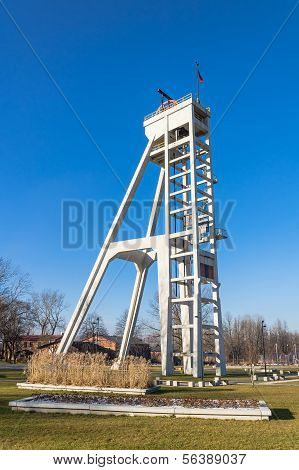 Historic hoist tower