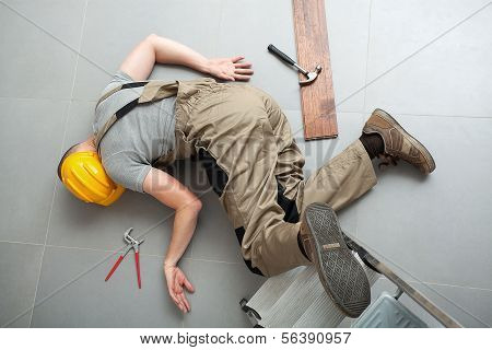 Handyman Fell From Ladder