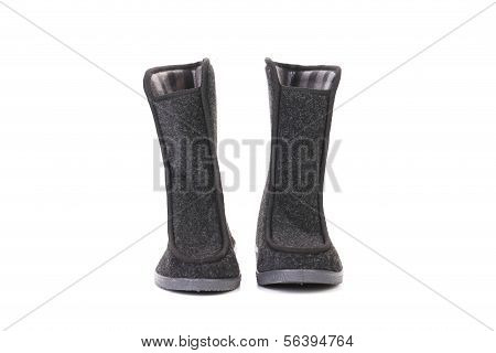Pair of winter man's boots.