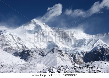 Cho Oyu, The 6Th Highest Mountain In The World, Himalaya