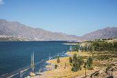picture of mendocino  - Potrerillos reservoir at Luj - JPG