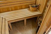 pic of sauna  - sauna bath and sauna accessories - JPG