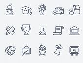 picture of flask  - Education icons - JPG