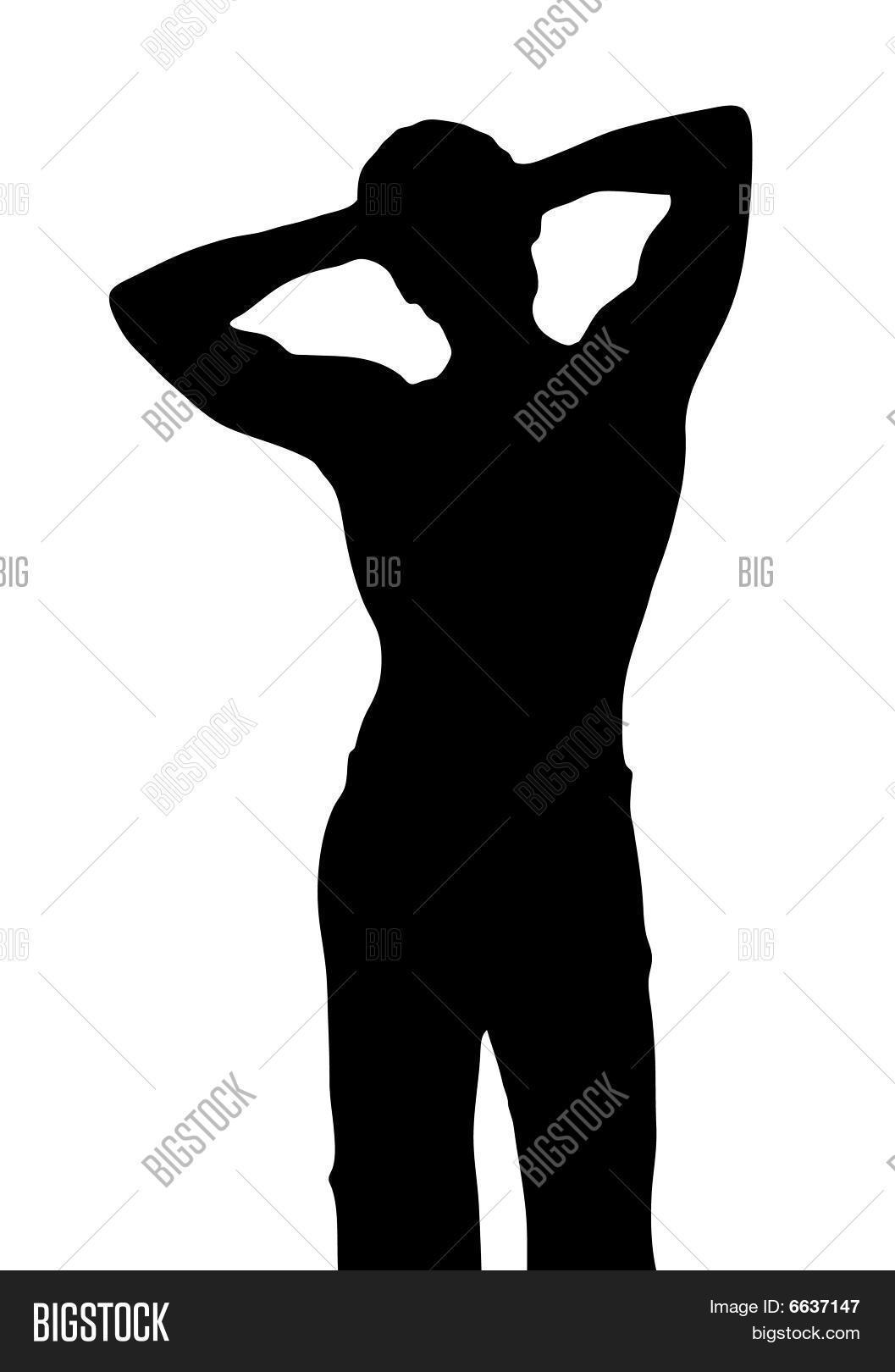 Male Silhouette Vector & Photo   Bigstock