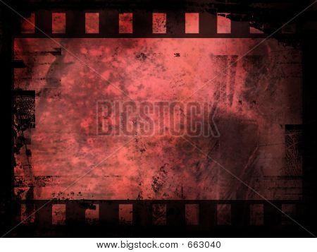 Fondo de tira de película abstracta