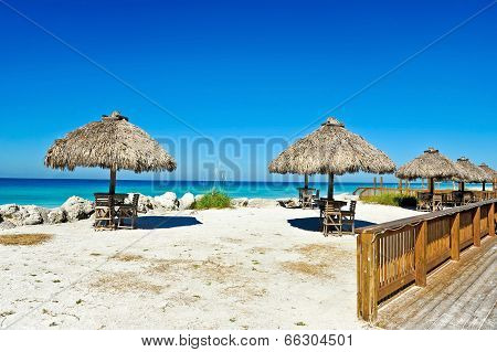 Outdoor Beach Bar