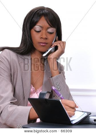 Woman Scheduling Appointment