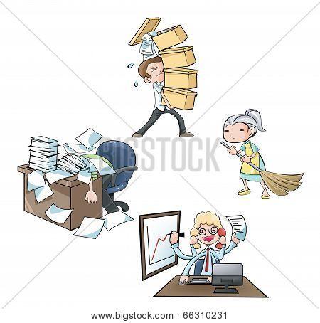 The employee