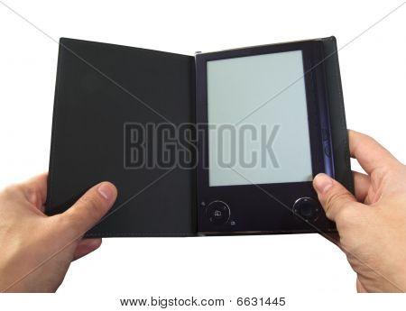 Ebook Reader In Hands