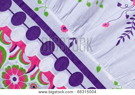 Fabric With Abstract Pattern