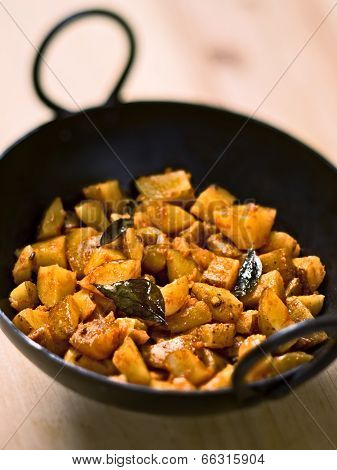Vegetarian Indian Potato Masala Curry