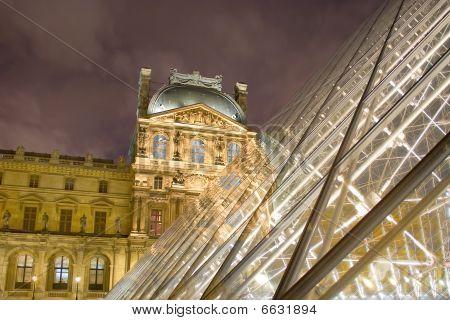 Louvre's Pei Pyramid