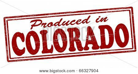Produced In Colorado