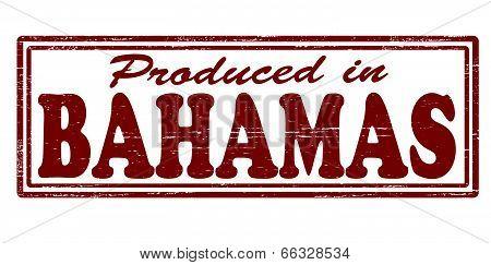 Produced in Bahamas