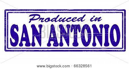 Produced In San Antonio