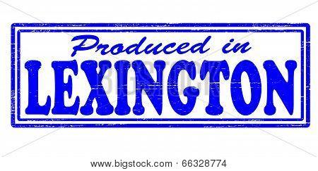 Produced in Lexington