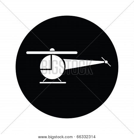 Helicopter  Symbol Icon Vector.eps