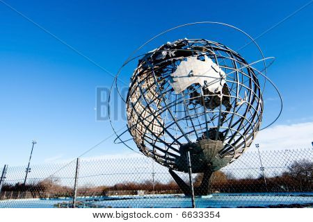 Earth World Globe Unisphere