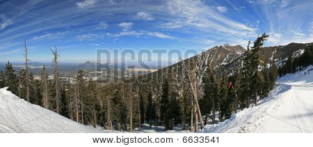 Arizona Snowbowl Panorama