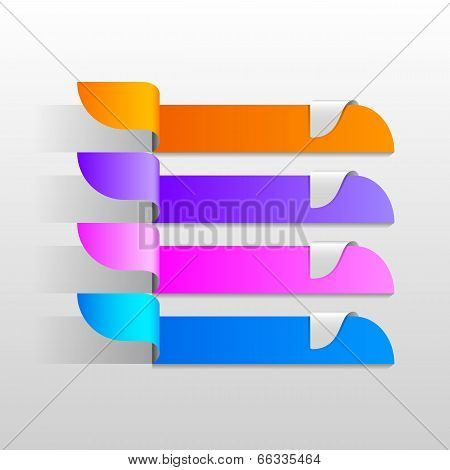 Paper Strip Background