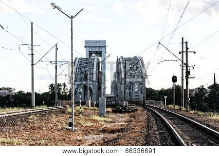 Railway bridge.