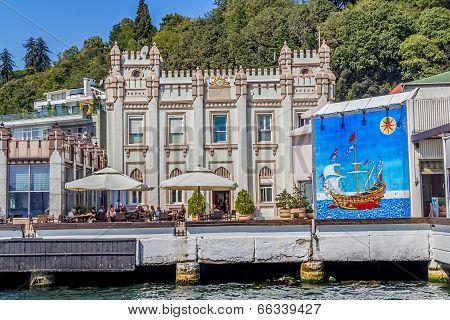 Istanbul coast in Sariyer
