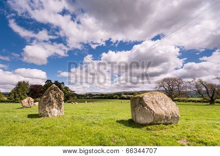 Northern Side Of Stone Circle