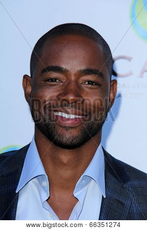 LOS ANGELES - MAY 29:  Jay Ellis at the 16th Annual From Slavery to Freedom Gala Event at Skirball Center on May 29, 2014 in Los Angeles, CA