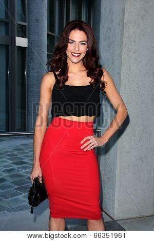 LOS ANGELES - MAY 29:  Melanie Specht at the 16th Annual From Slavery to Freedom Gala Event at Skirball Center on May 29, 2014 in Los Angeles, CA