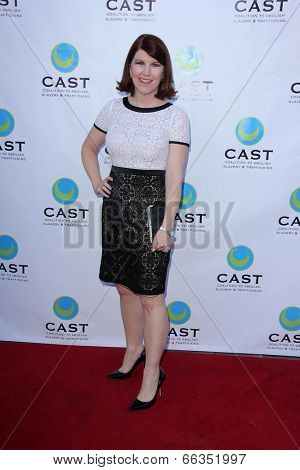 LOS ANGELES - MAY 29:  Kate Flannery at the 16th Annual From Slavery to Freedom Gala Event at Skirball Center on May 29, 2014 in Los Angeles, CA
