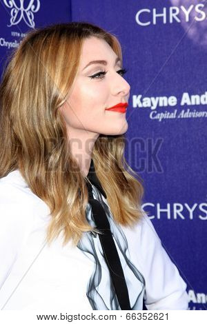LOS ANGELES - JUN 7:  Amy Renee Heidemann, Karmin at the 13th Annual Chrysalis Butterfly Ball at Private Mandeville Canyon Estate on June 7, 2014 in Los Angeles, CA