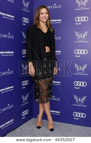 LOS ANGELES - JUN 7:  Katharine McPhee at the 13th Annual Chrysalis Butterfly Ball at Private Mandeville Canyon Estate on June 7, 2014 in Los Angeles, CA