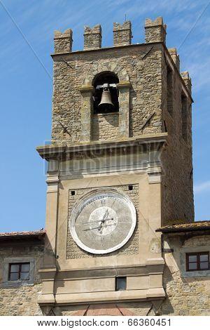 detail of Palazzo Comunale in Cortona